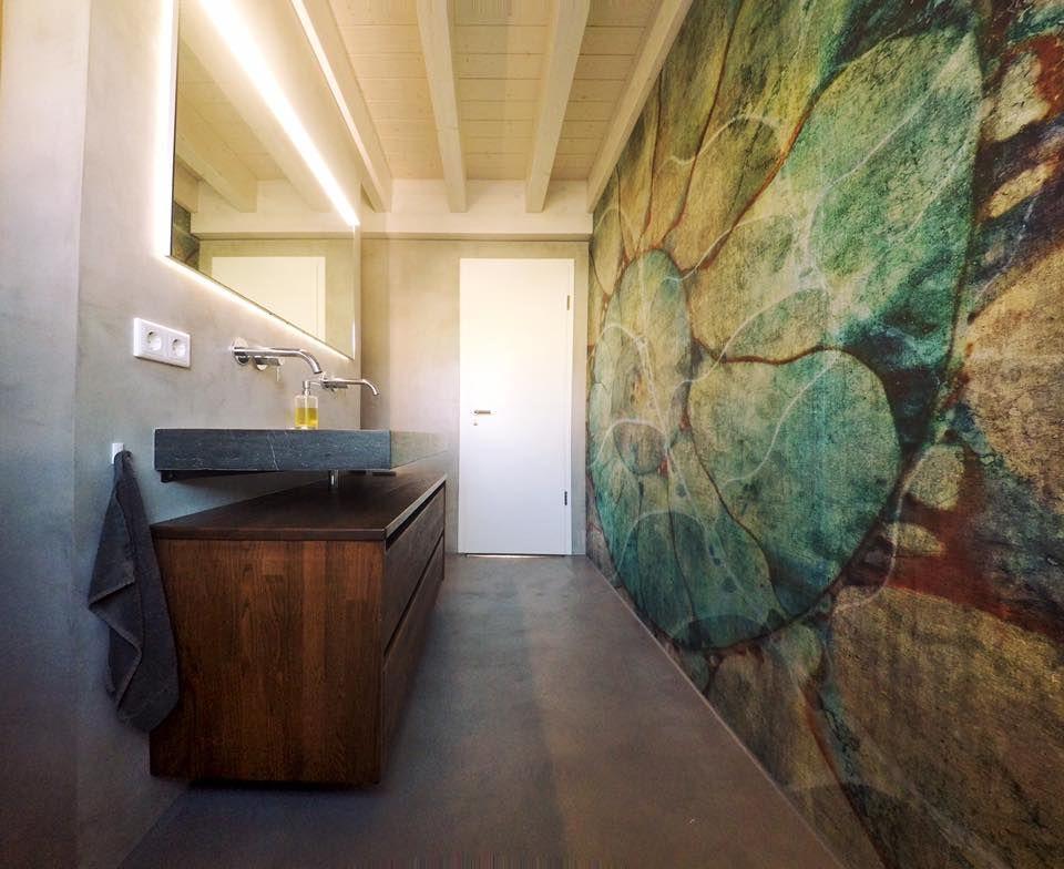 Wunderbar ... Handwerk Mit Design!  Http://www.malerische Wohnideen.de/blog/baddesign Reutlingen Stuttgart  Badgestaltung Glamora Tapeten Malerwerkstaette Ochs.html