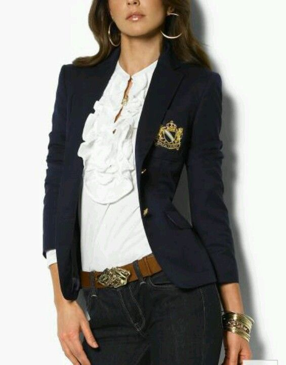 Ralph Lauren women s blazer, navy Already have this and i loveeee it ... dd250da634b8