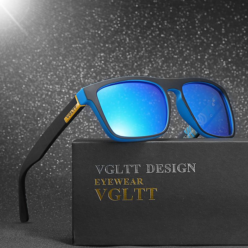 VGLTT gafas de Sol Polarizadas Para hombres Moda Marca Desinger Mujeres  Square Gafas de Sol de a9f001007192