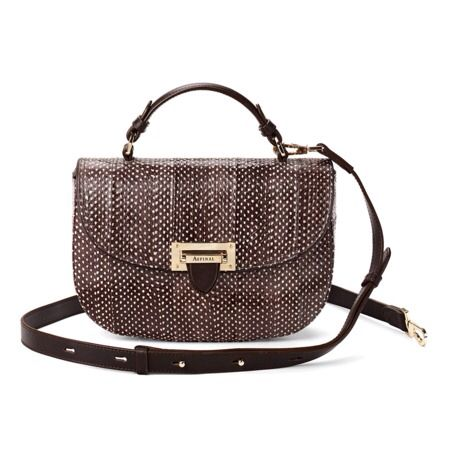 Aspinal bag that can be worn cross-body or as a handbag