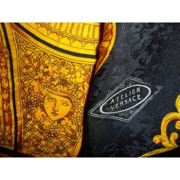 vintage foulard versace atlier versace