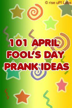 April fools jokes for amateurs