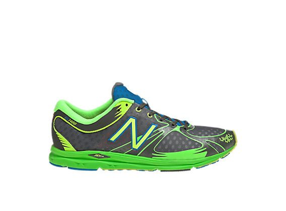 New Balance 1400, Grey with Green. $90
