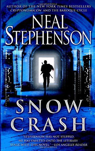 Book Cover With Images Snow Crash Science Fiction Books