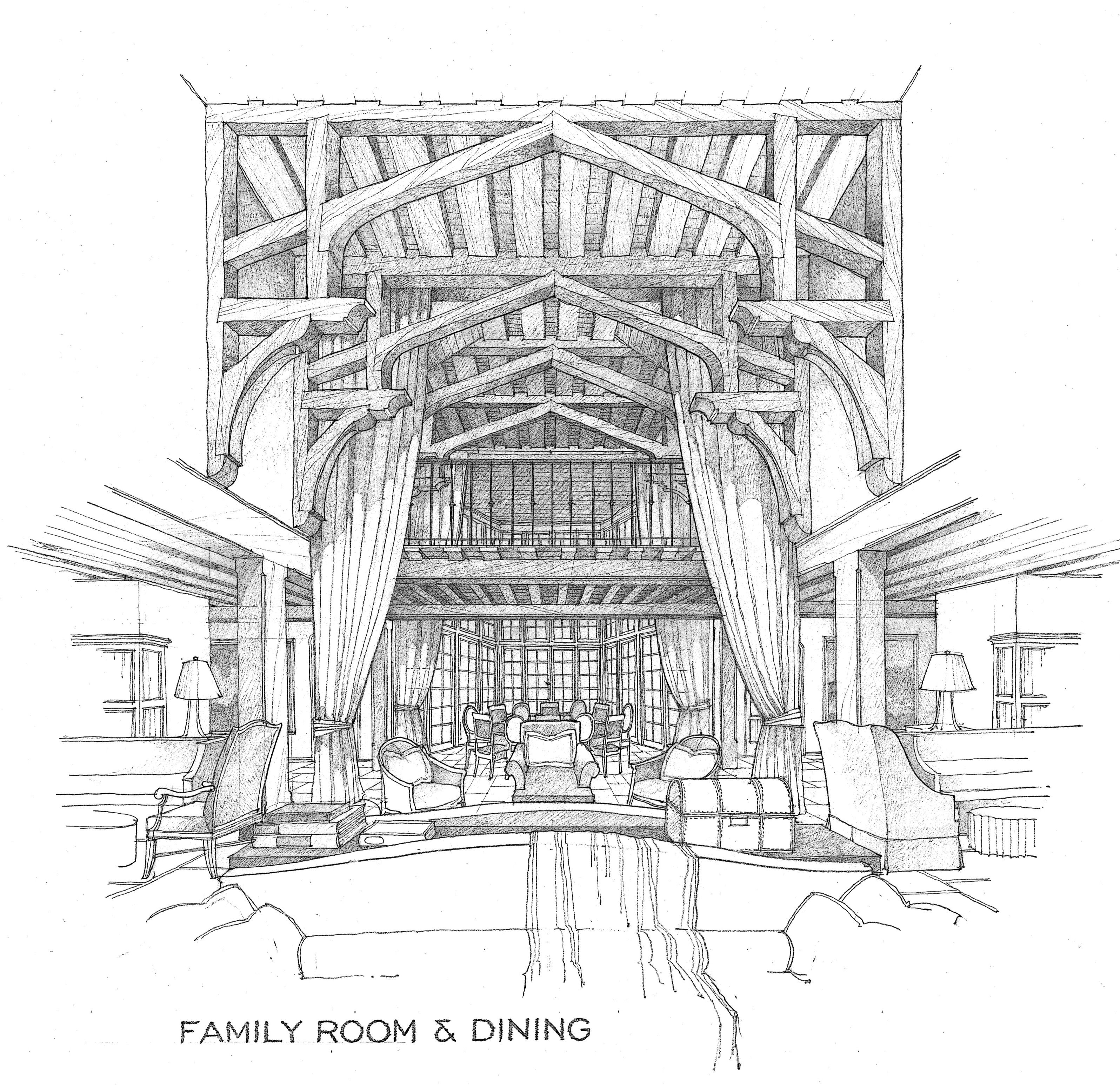 Architecture Drawing Hand finding home – mcalpine tankersley architecture » drawing to a
