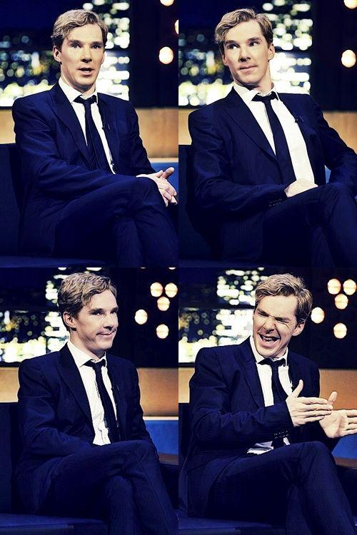 the faces of Mr. Cumberbumberbatches <3