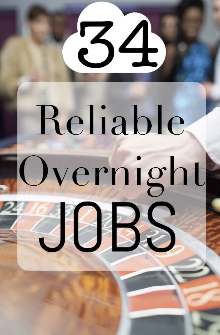34 Legit Ways To Make A Living In The Overnight Hours Night Shift Jobs Overnight Job