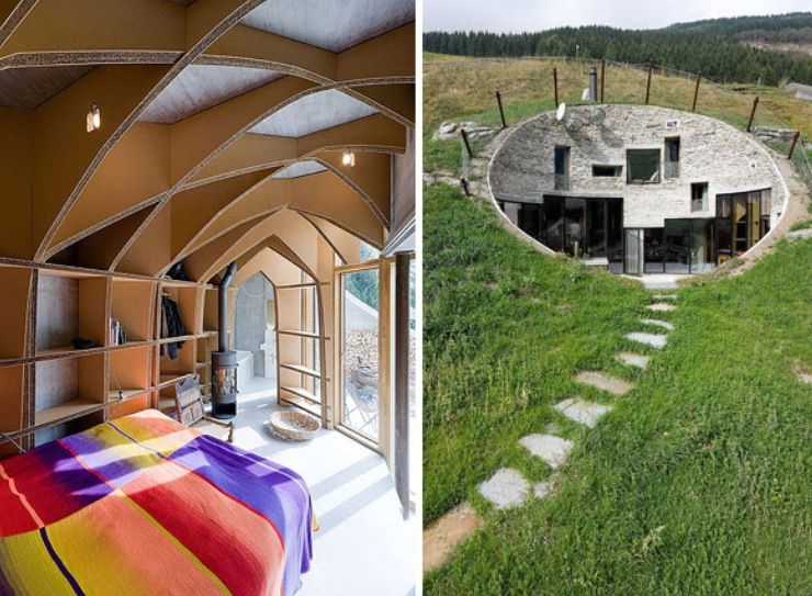 Merveilleux Underground Home Designs   Swiss Mountain House Rocks. House Plan Is The  Collaboration Between The Netherlands Architects At SeARCH And Christian  Muller ...