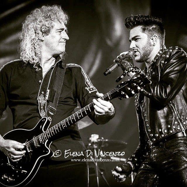 「#queen And #adamlambert Live At #mediolanumforum in #milan  #brianmay #elenadivincenzo #misselenadv」by misselenadv instagram.com/p/y8IMmSAVY0/