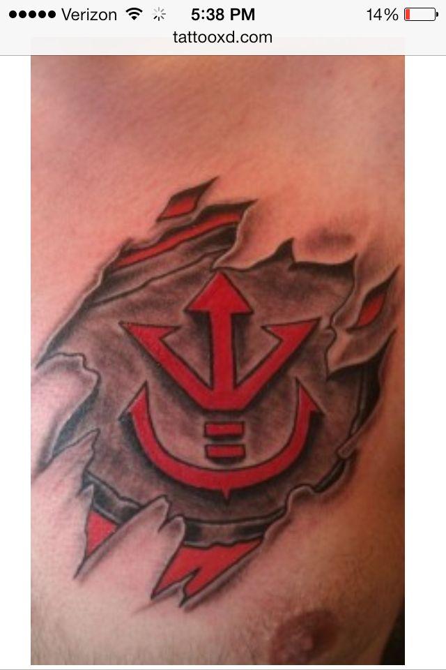 The Saiyan Symbol Tattoo Ideas Pinterest Tattoos Dragon And