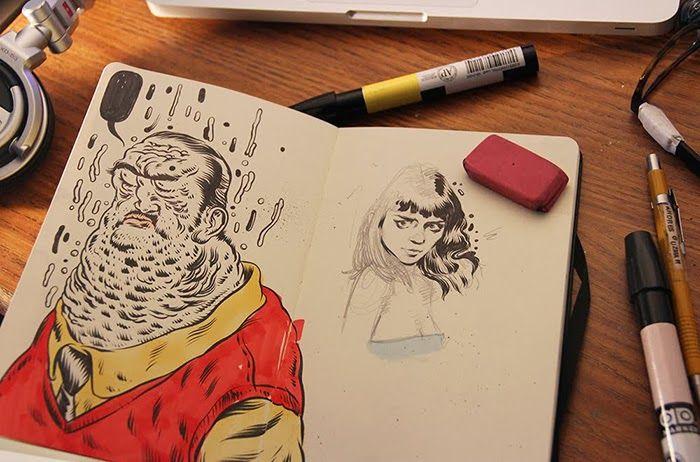 Visual Diary: ANDRÉS GUZMÁN