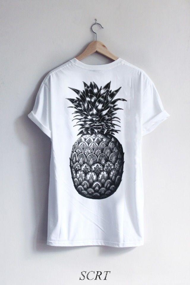 5acda1250d8 Pineapple shirt. Pineapple shirt Shirt Designs