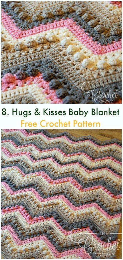 Bobble & Popcorn Blanket Free Crochet Patterns   crochet   Pinterest ...