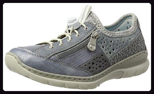 Rieker Damen L3297 Sneakers, Blau (DenimAdriaDenimJeans PGg8y