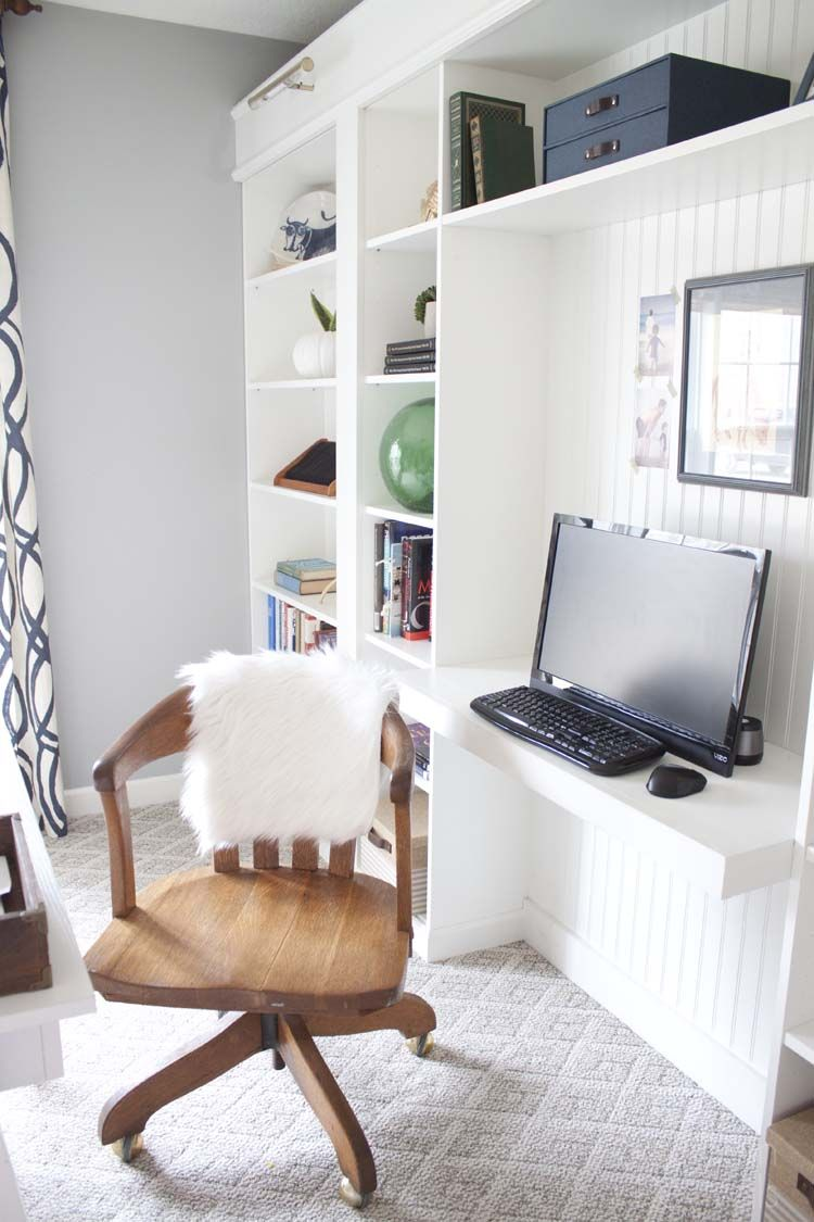 Ikea Home Office Library Ideas: Billy Bookcase Office, Bookcase