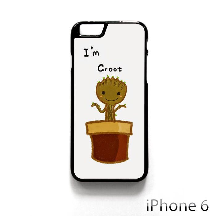 I Am Groot Baby Flower AR for iPhone 4/4S/5/5C/5S/6/6 plus phonecase