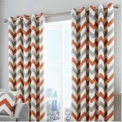Photo of Echols curtain set with eyelets, opaqueWayfair.de