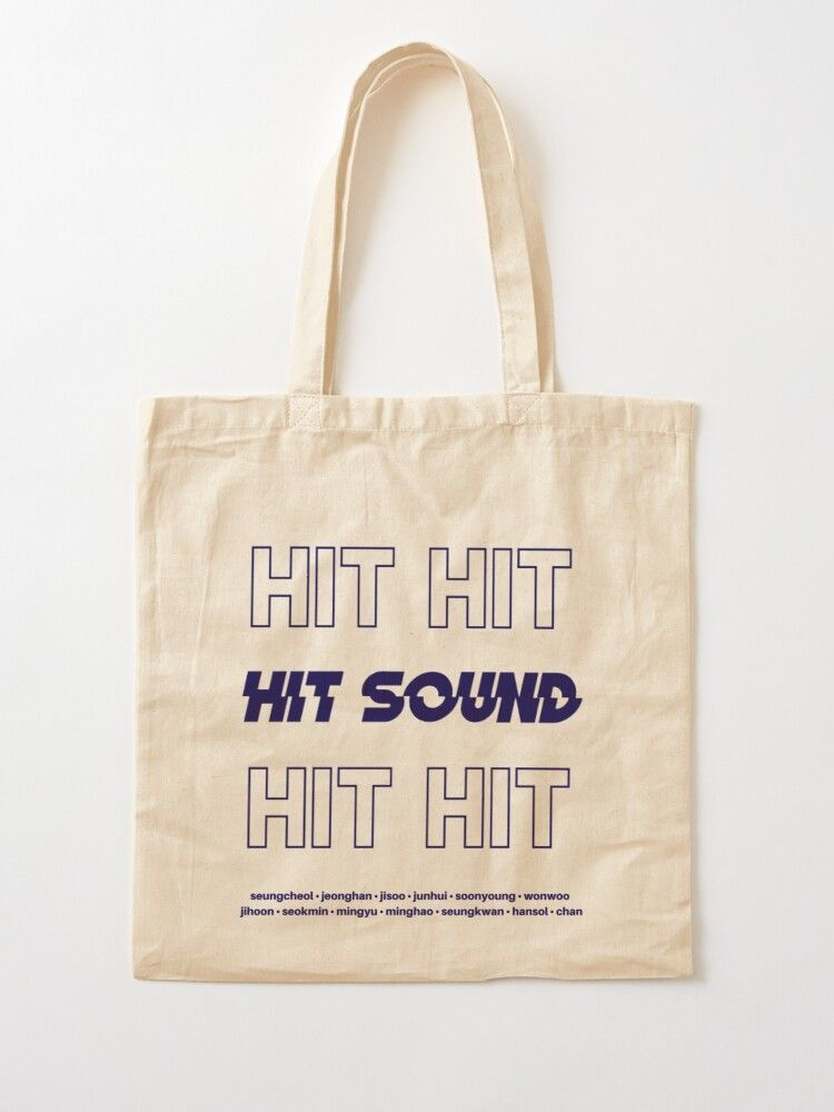 Download Seventeen Hit Tote Bag Eco Bag Tote Bag By Solarafilm Redbubble Tote Bag Fabric Tote Bags Quote Tote Bag