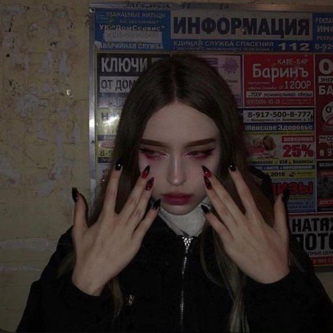 Mugshot Makeup Tiktok In 2020 Bad Girl Aesthetic Dark Aesthetic Grunge Photography