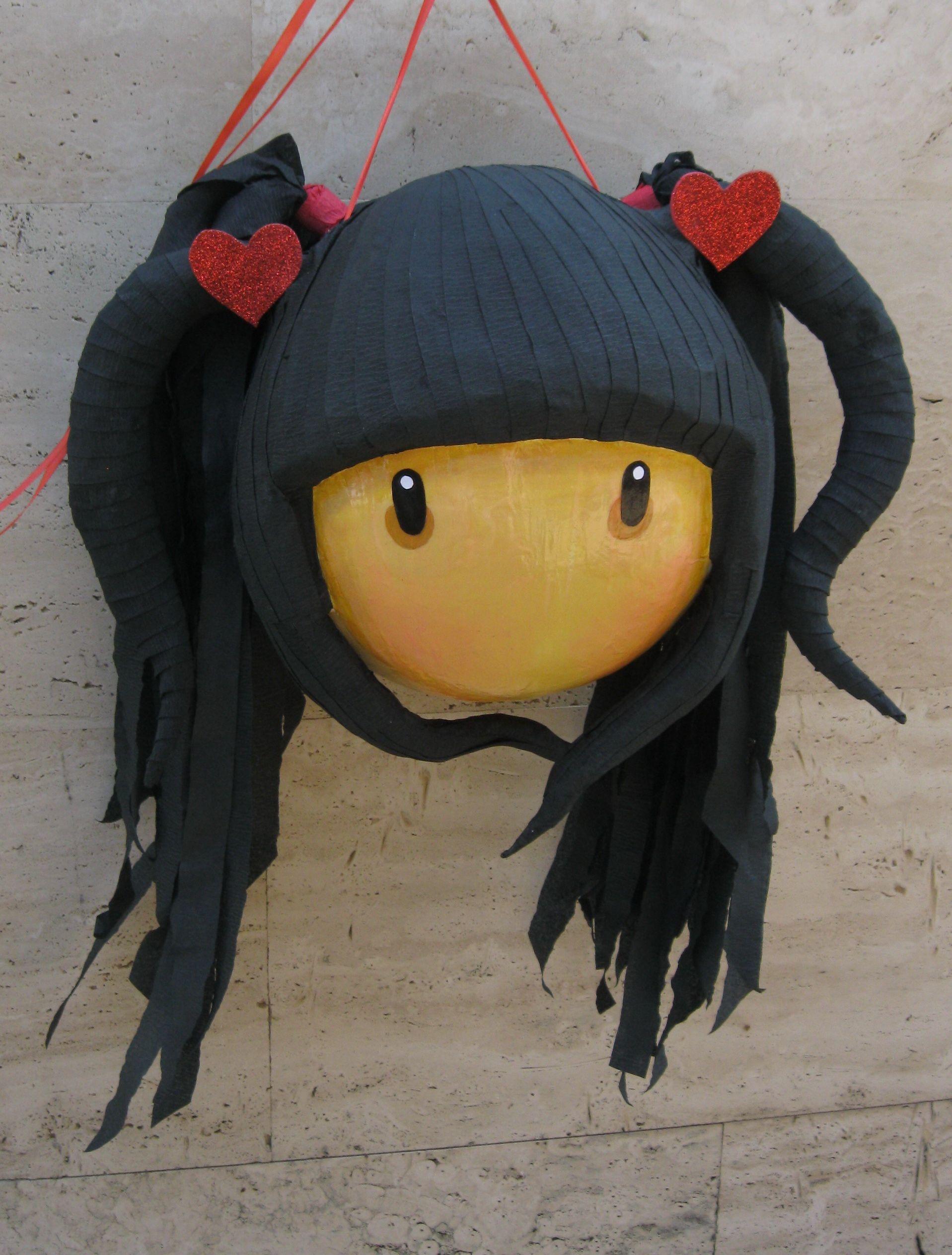 Gorjuss Girl Pinata Disney Princess Hairstyles Pinata