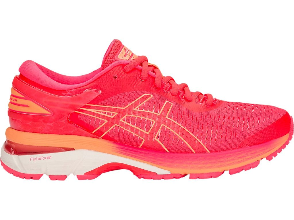 Women S Gel Kayano 25 Diva Pink Mojave Running Shoes Asics Asics Running Shoes Running Shoes Womens Running Shoes