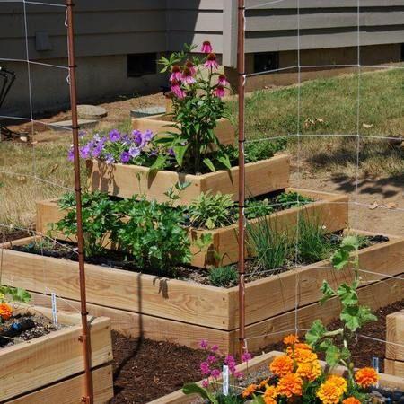 pyramid garden box