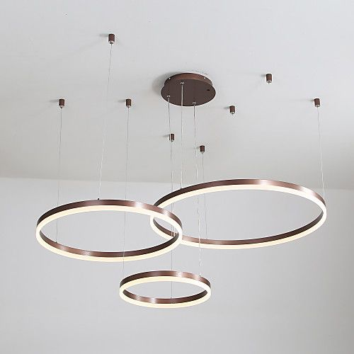 Photo of 60w led circle chandelier / led pendant lights …