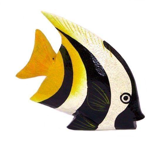 deko fisch holzfisch dekofisch kunstfisch fische holz. Black Bedroom Furniture Sets. Home Design Ideas
