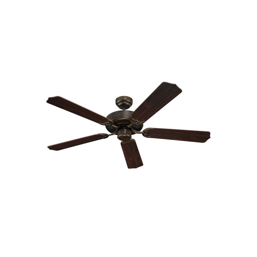 Sea Gull Lighting Quality Max Plus 52 in. Russet Bronze Ceiling Fan