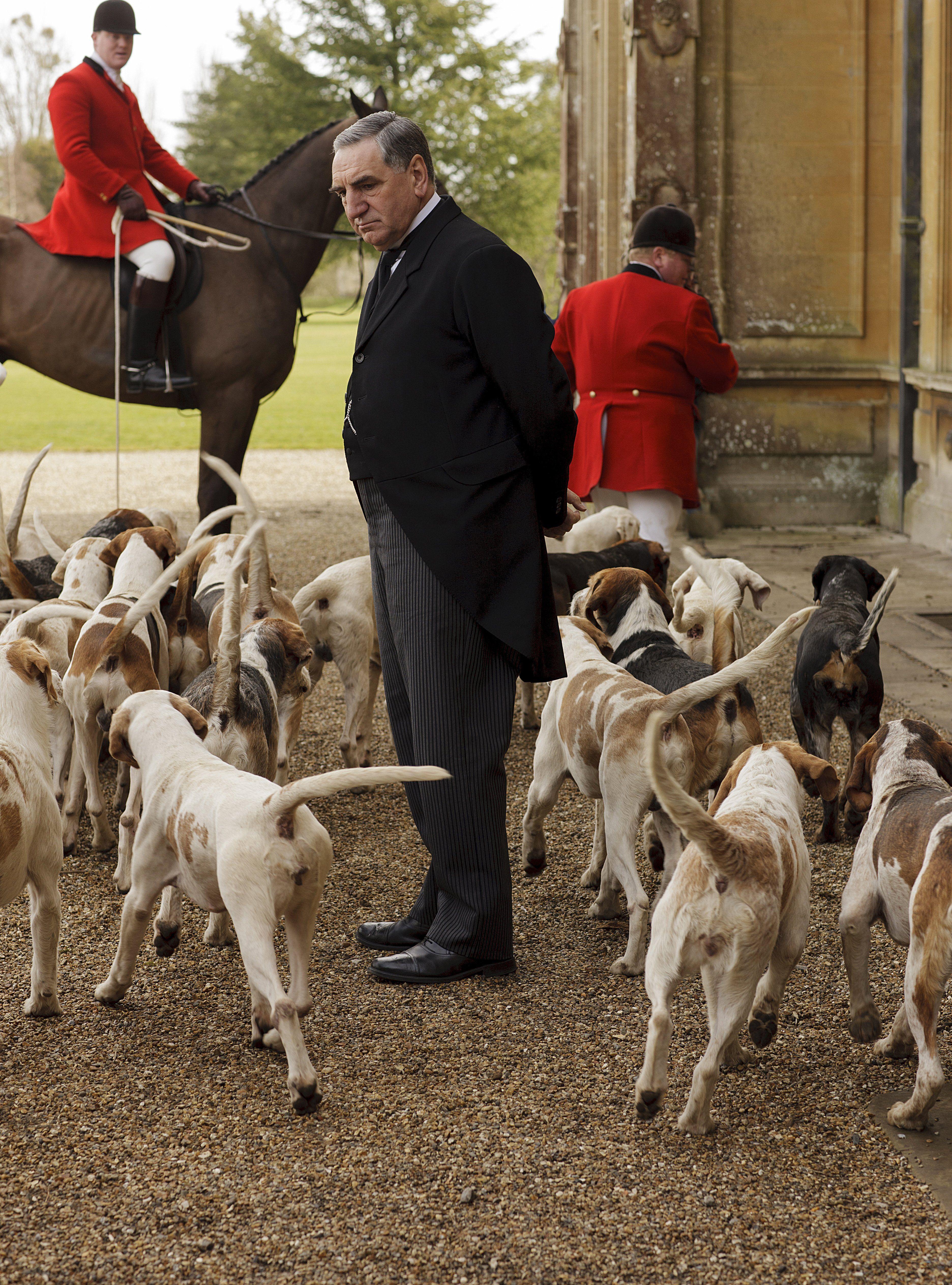 """Downton Abbey""   Carson"