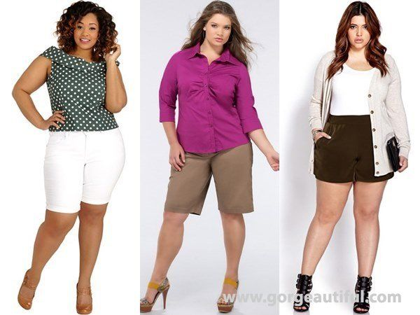 How to Wear Shorts best for Your Body Type | Plus size ...