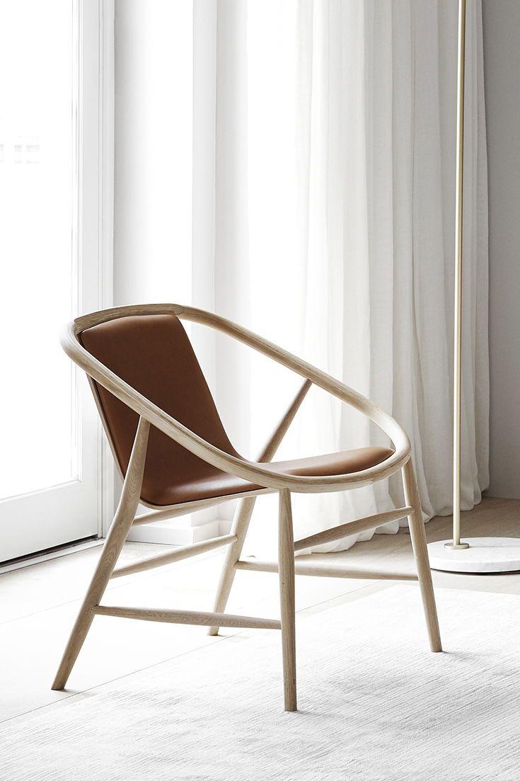 Best Minimalist Lounge Chair Featuring A Refined Oak Frame 400 x 300