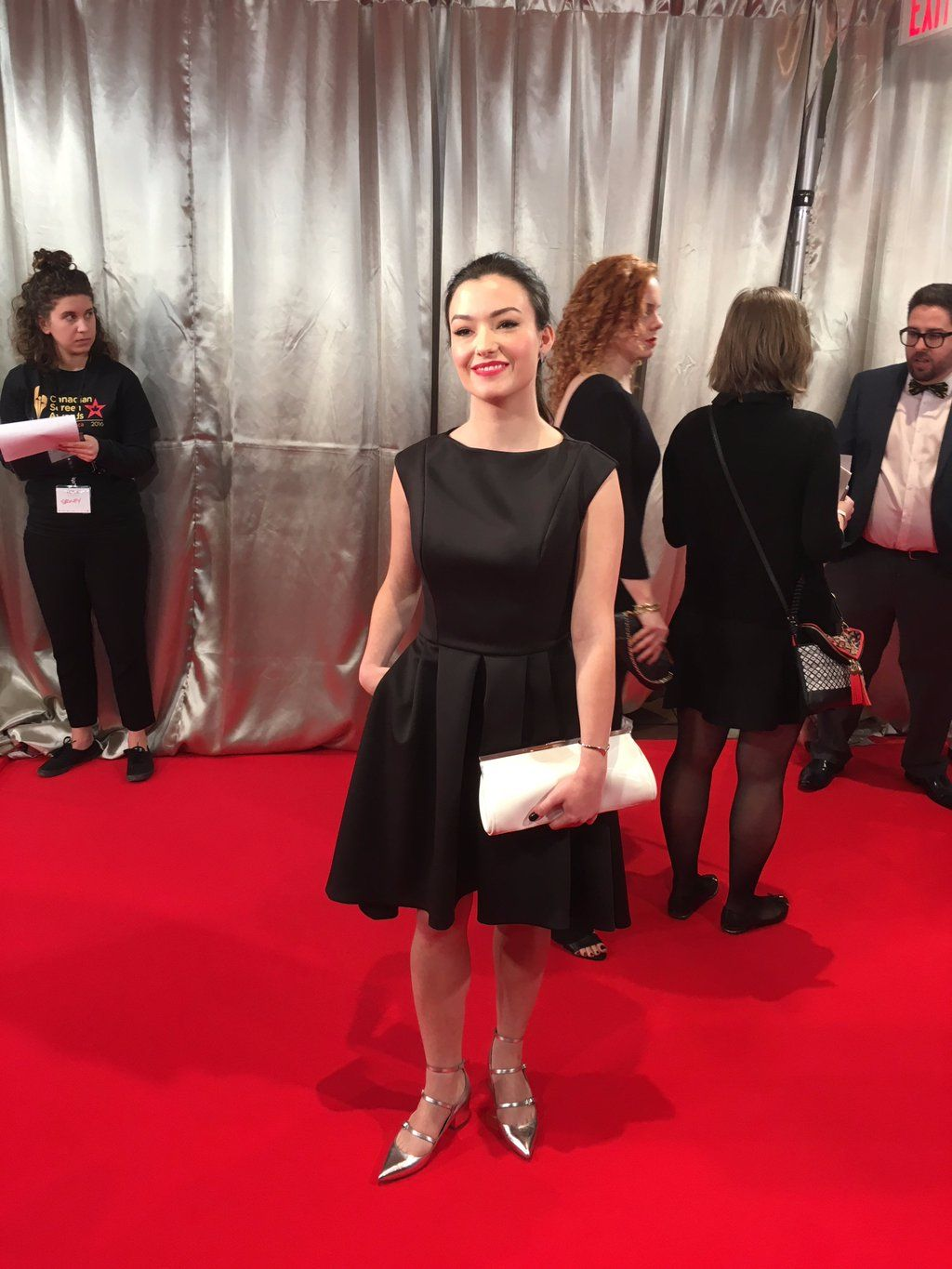 "CanadianScreenAwards on Twitter: ""Fan's Choice nom @natvanlis from @carmillaseries is looking gorgeous! VOTE NOW! https://t.co/2AZoAJsa4H #CdnScreen16 https://t.co/Bfep92BHvG"""
