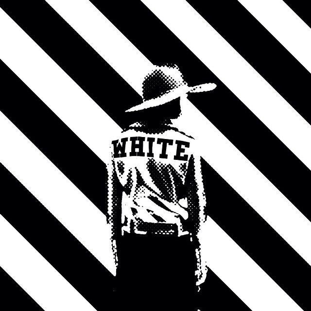 VIRGIL ABLOH. PERSONAL in 2019 White wallpaper, Black