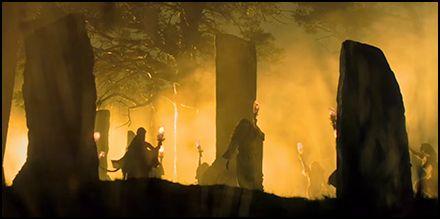 Druids In Outlander Thou King Of The Moon Outlander Starz