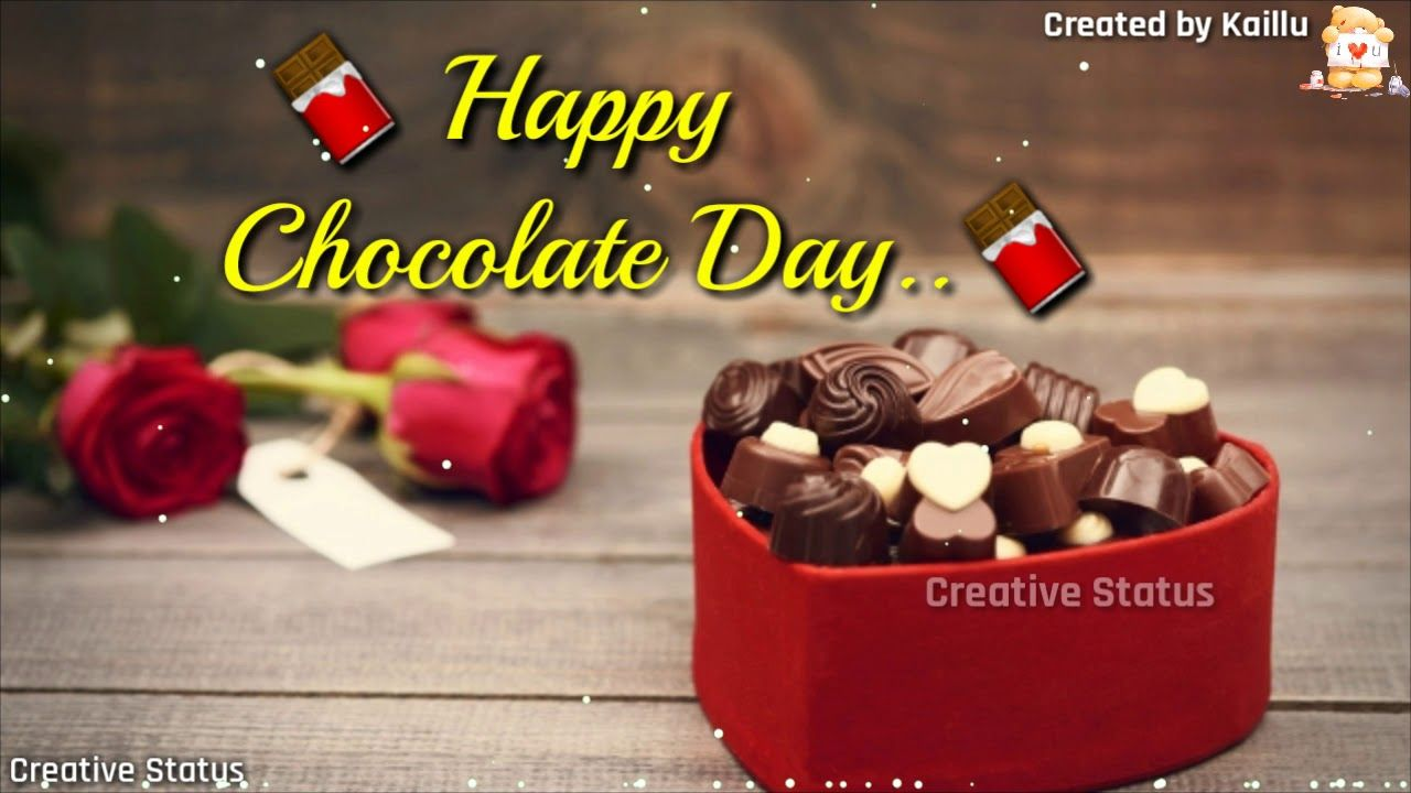 Romantic Chocolate Day Images Wallpapers Happy Chocolate Day Chocolate Day Wallpaper Chocolate Day