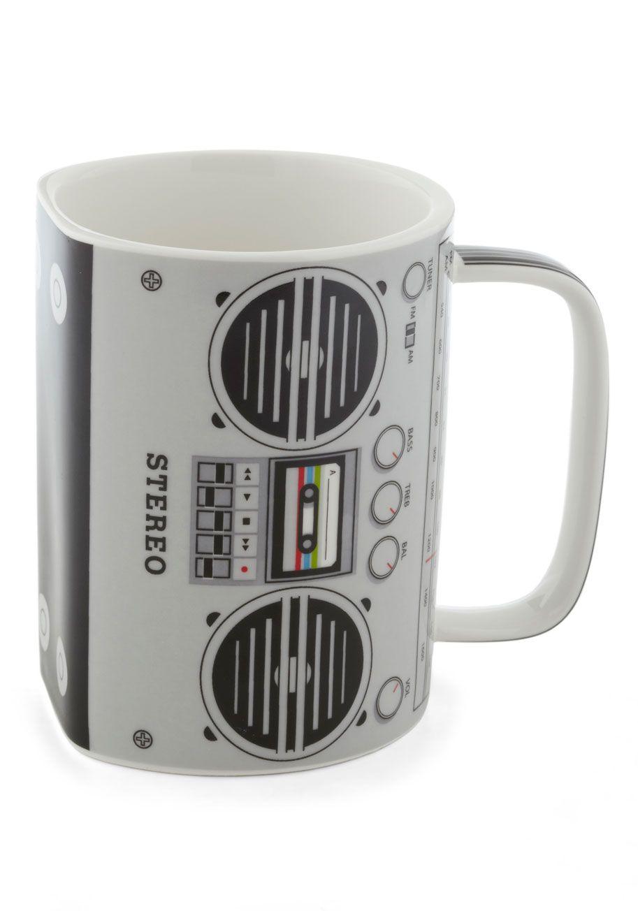 43cd97de4 My Cup of Tea Mug - Grey, 80s, Music, Novelty Print *I WANT THIS!!!*