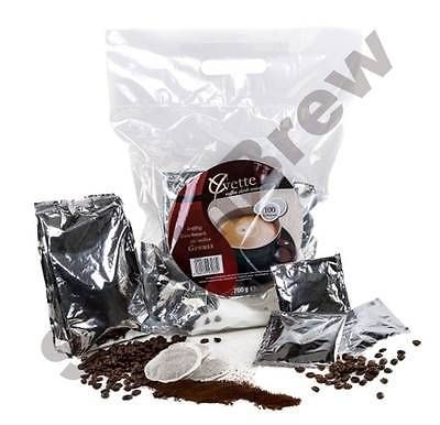 100 (4x25) #yvette coffee pods/pads for #senseo machine: #dark, medium & mild roa,  View more on the LINK: http://www.zeppy.io/product/gb/2/111668164098/