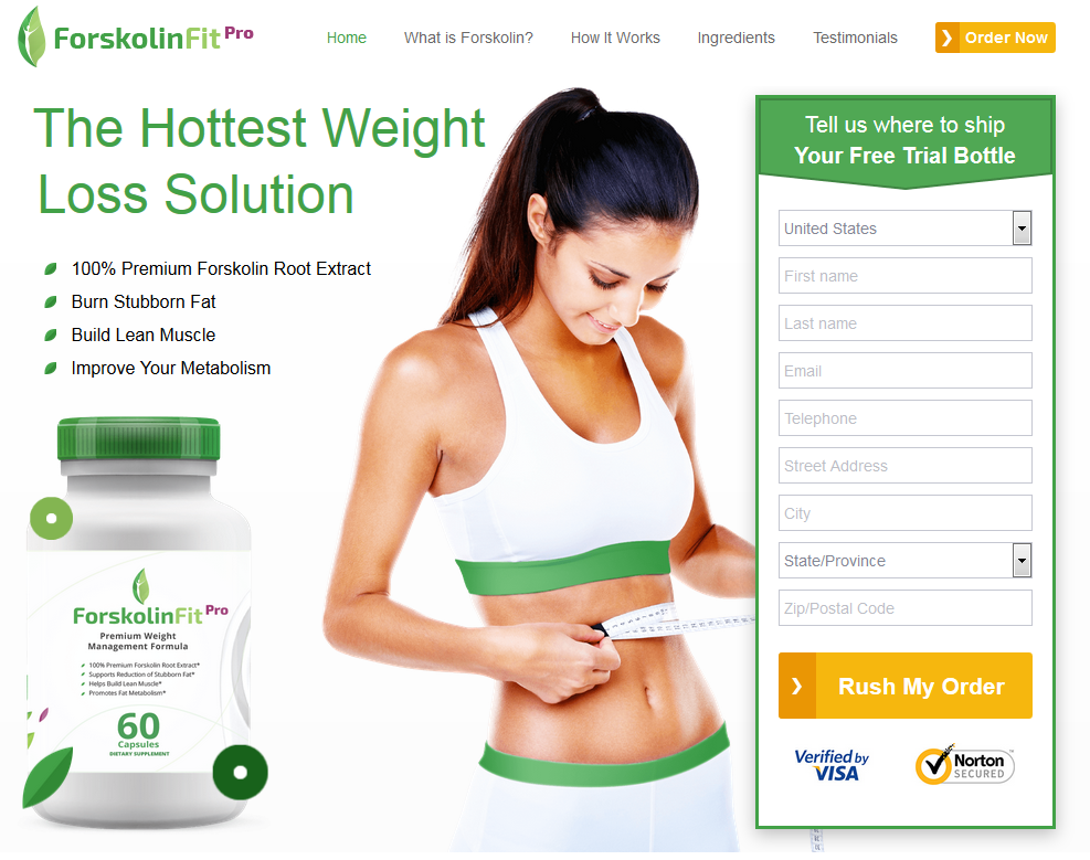 The Hottest Weight Loss Solution      100% Premium Forskolin Root Extract     Burn Stubborn Fat     Build Lean Muscle     Improve Your Metabolism