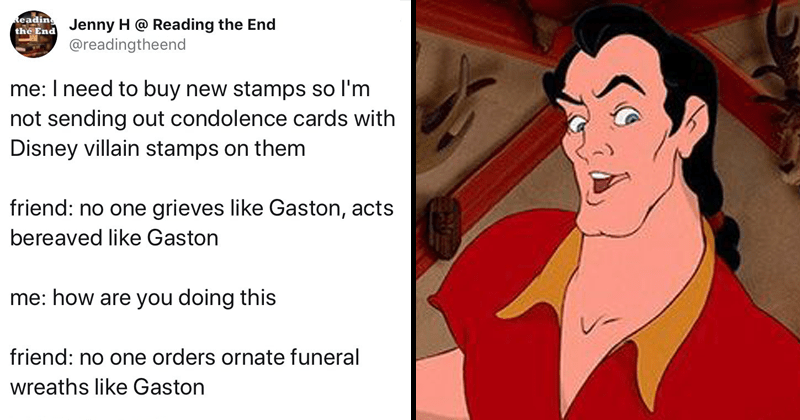 Twitter Is Having A Field Day With These Gaston Song