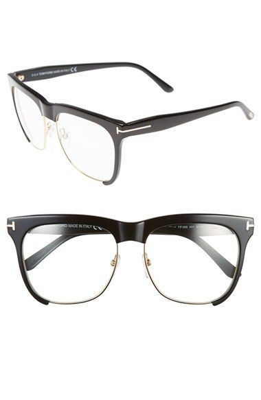 ac735676151c Tom Ford 'Thea' 55mm Optical Glasses available at #Nordstrom | style ...