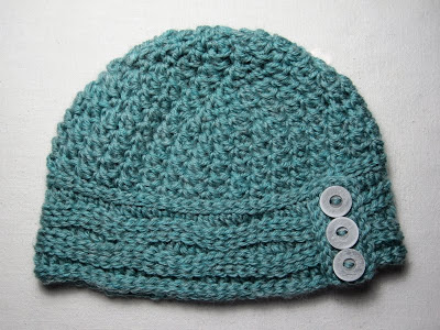 Mr. Micawber's Recipe for Happiness: Two Roads Hat Free Crochet Pattern & Tutorial ~ Version Two (with Slip Stitch Band) #slipstitch