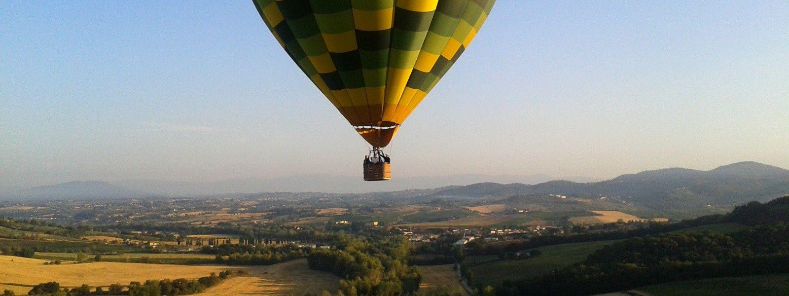 Passeio de Balão na Toscana #Luxúria