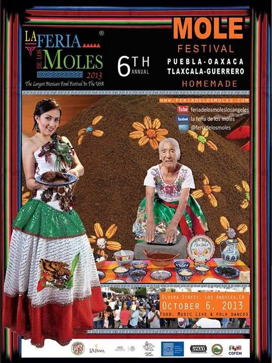 Magical, magical mole...we love you so much! @feriadelosmoles