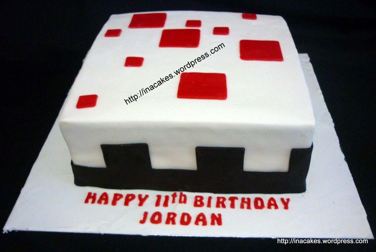 P1030770 Minecraft Pinterest Minecraft Cake Singapore And Cake