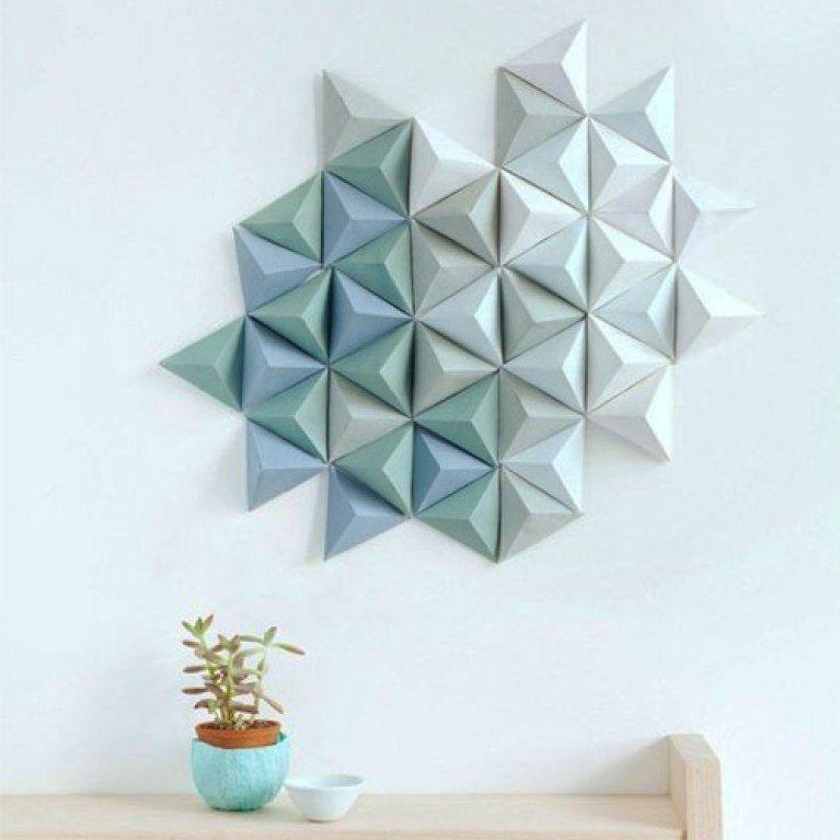 Uberlegen 5+geniale+DIY Hacks:+Kreative+Wand Deko+einfach+selber+machen