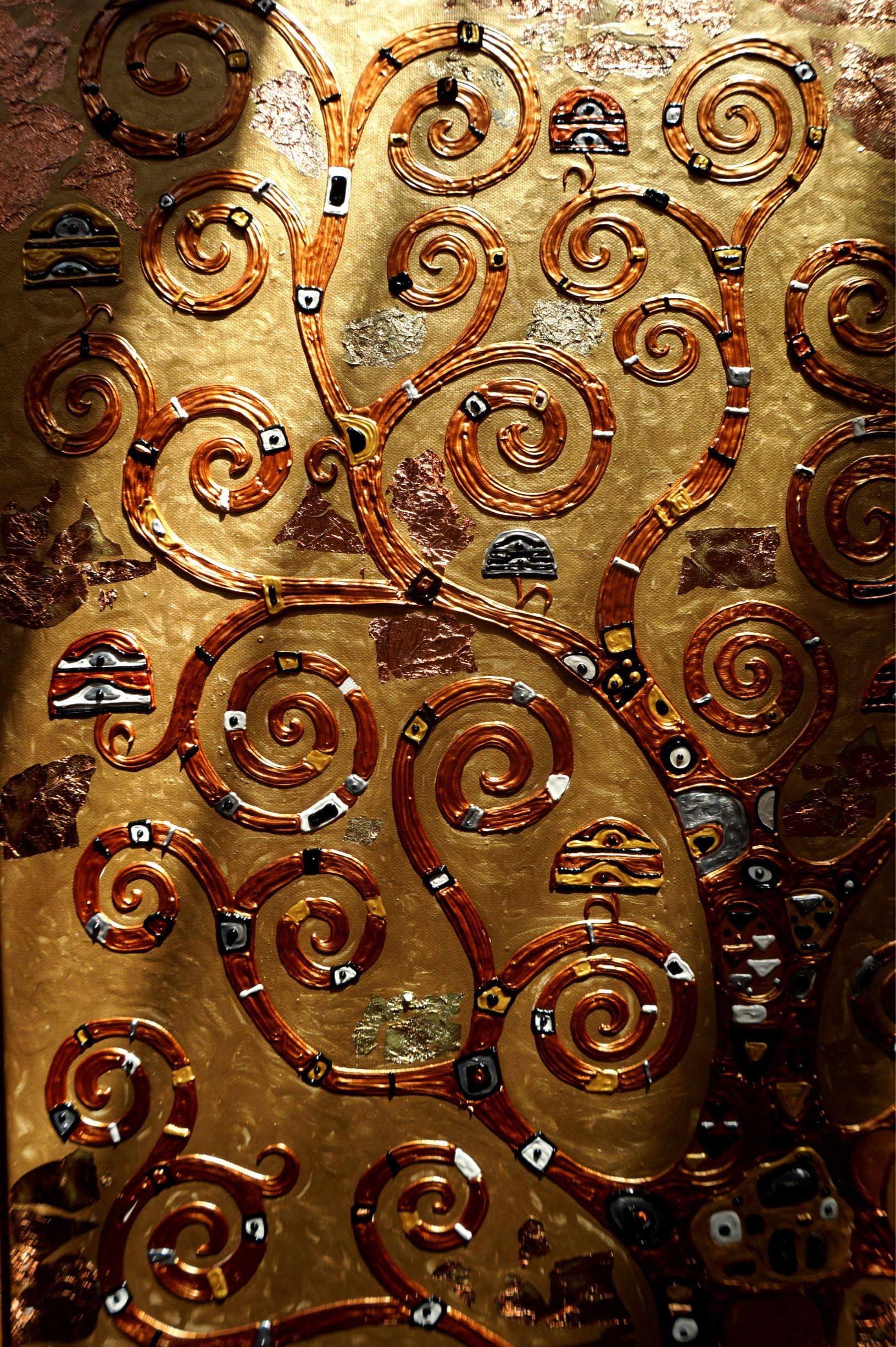 Густав Климт дерево жизни, купить заказать большая картина ...