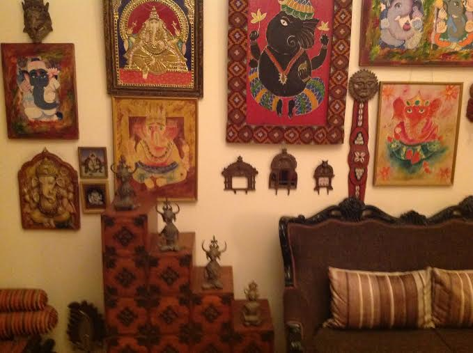 Walk Into My Home With Pinkz Passion Indian Wall Decor