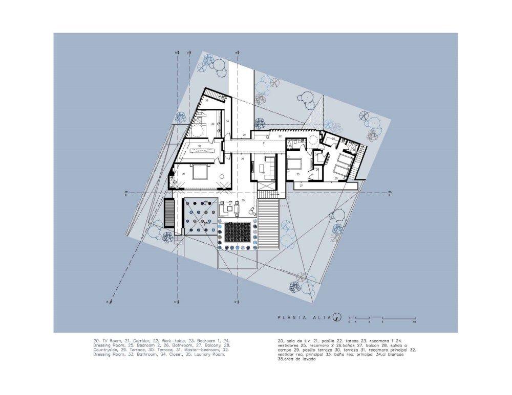 Acill Atem House / Broissin Architects. Love the simple diagramatic floor plan.
