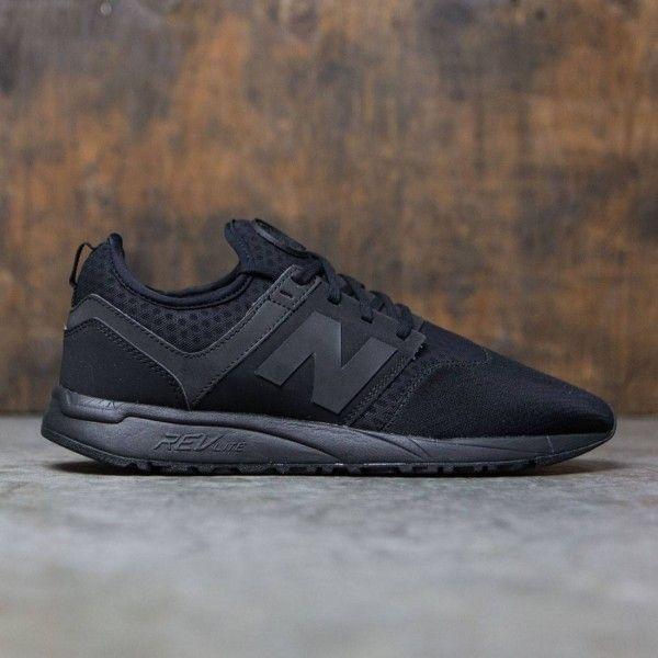 New Balance Men 247 Sport MRL247BK (black)   Sneakers men fashion ...